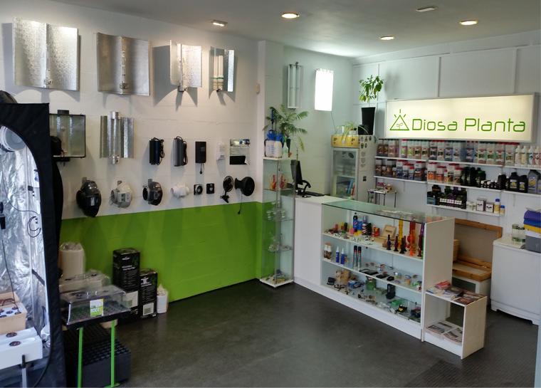 diosa planta grow shop coruña